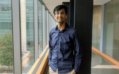 Altruism, curiosity drive CLP undergraduate awardee Viswajit Kandula