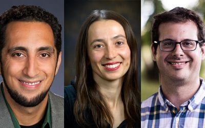 Promising young faculty receive prestigious career award
