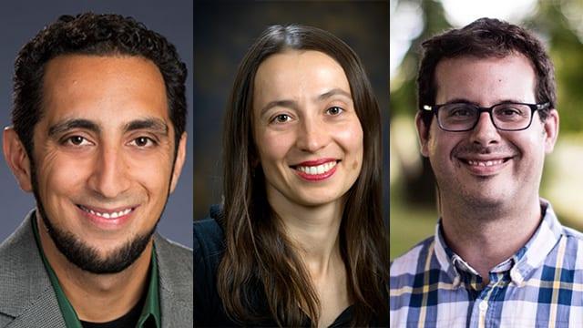 Promising young faculty receive prestigious career award