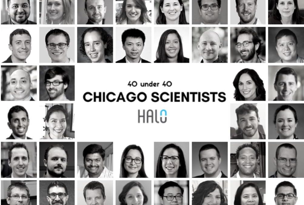 Halo's '40 under 40 Chicago Scientists' Recognizes CLP Members Evan Scott and Arthur Prindle