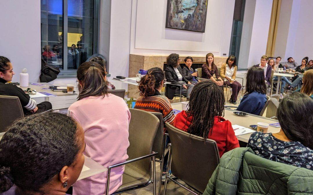 Northwestern Professors Talk Gender, Mental Health and Work-life Balance at 'CLP Spills the Tea' Event