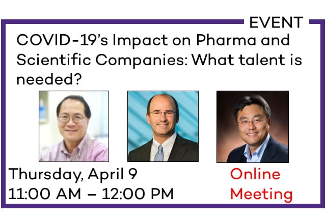 COVID-19's Impact on Pharma and Scientific  Instrument Companies: What Talent is Needed?