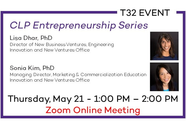 T32 Event: Entrepreneurship Series