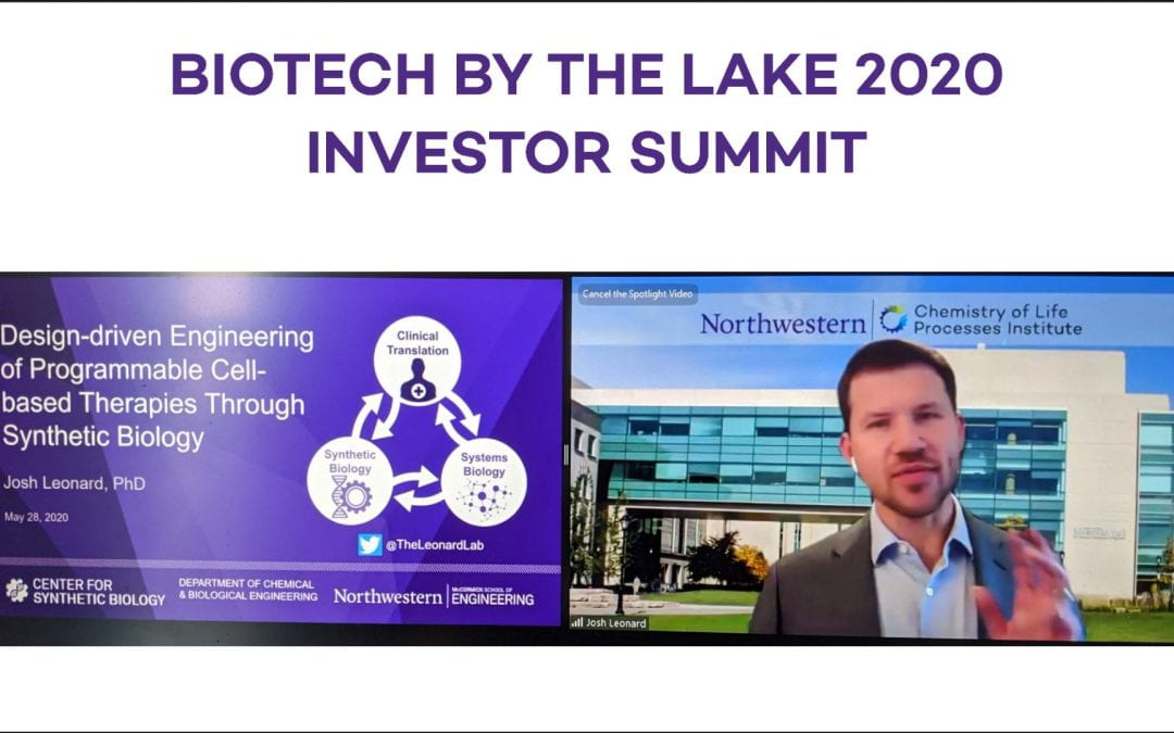 'Biotech by the Lake Investor Summit' spotlights Northwestern cancer biotech ahead of ASCO