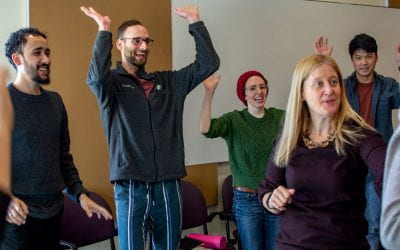 Improv helps Northwestern graduate students build a better science pitch