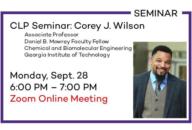 CLP Seminar: Corey Wilson