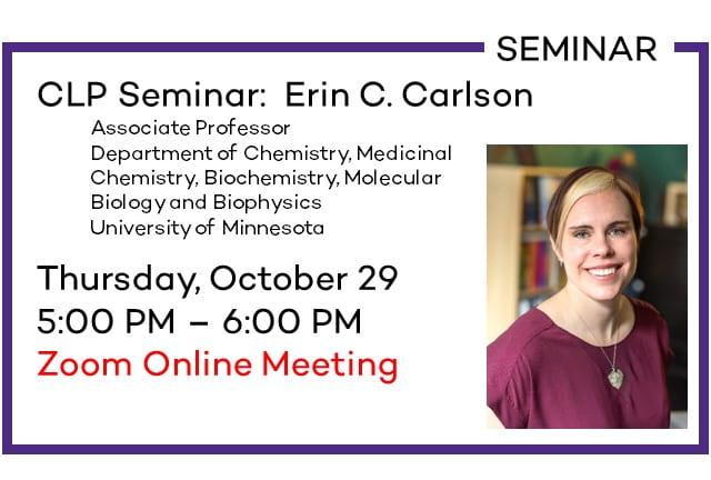 CLP Seminar: Erin C. Carlson