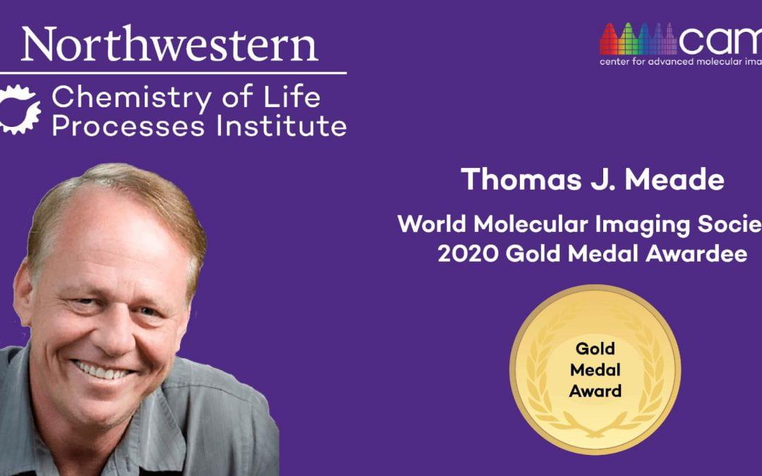 Northwestern's Thomas Meade Awarded World Molecular Imaging Society Gold Medal Award