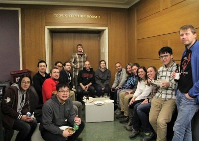 December 2016 - Chemistry Dept Holiday Party