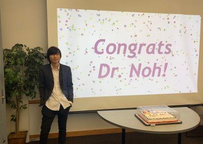 Hyunho Noh's Defense Celebration!