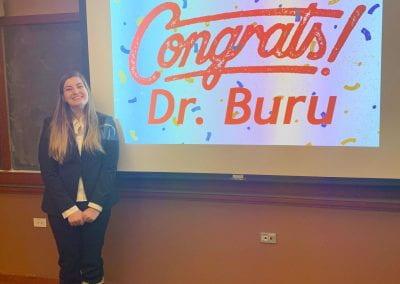 Cassandra Buru's Defense Celebration!