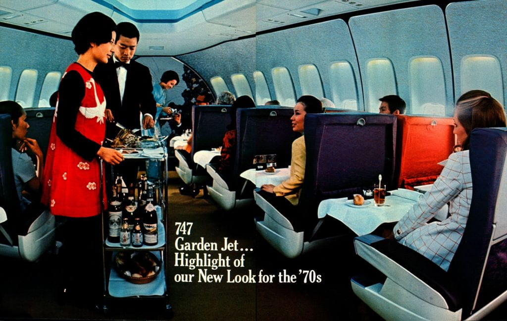 Japan Airlines July/August 1970 Timetable