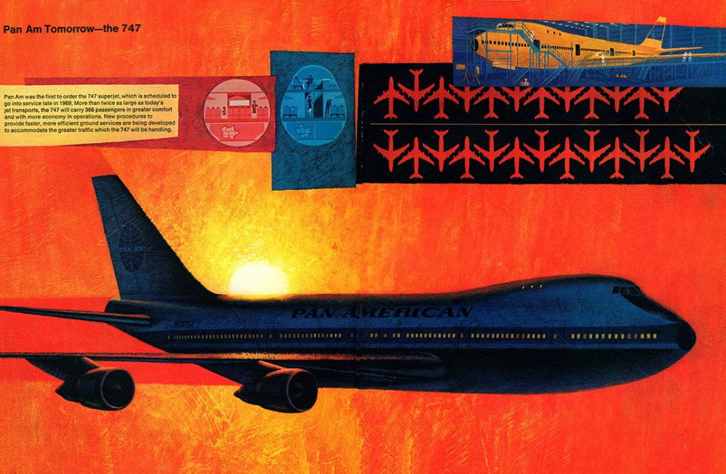 Pan Am Annual Report 1967