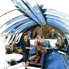 TWA First Class Lounge