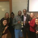 DPELC and MSL Students with Kamau Murray
