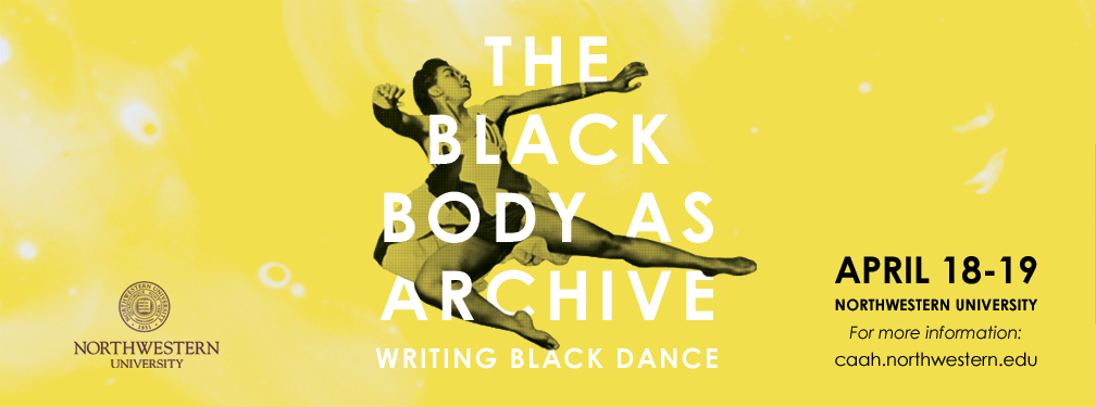 The Black Body as Archive banner