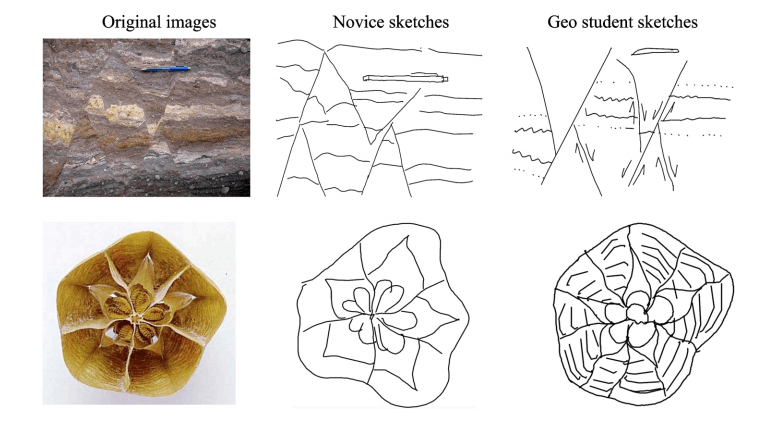geology comparison sketches