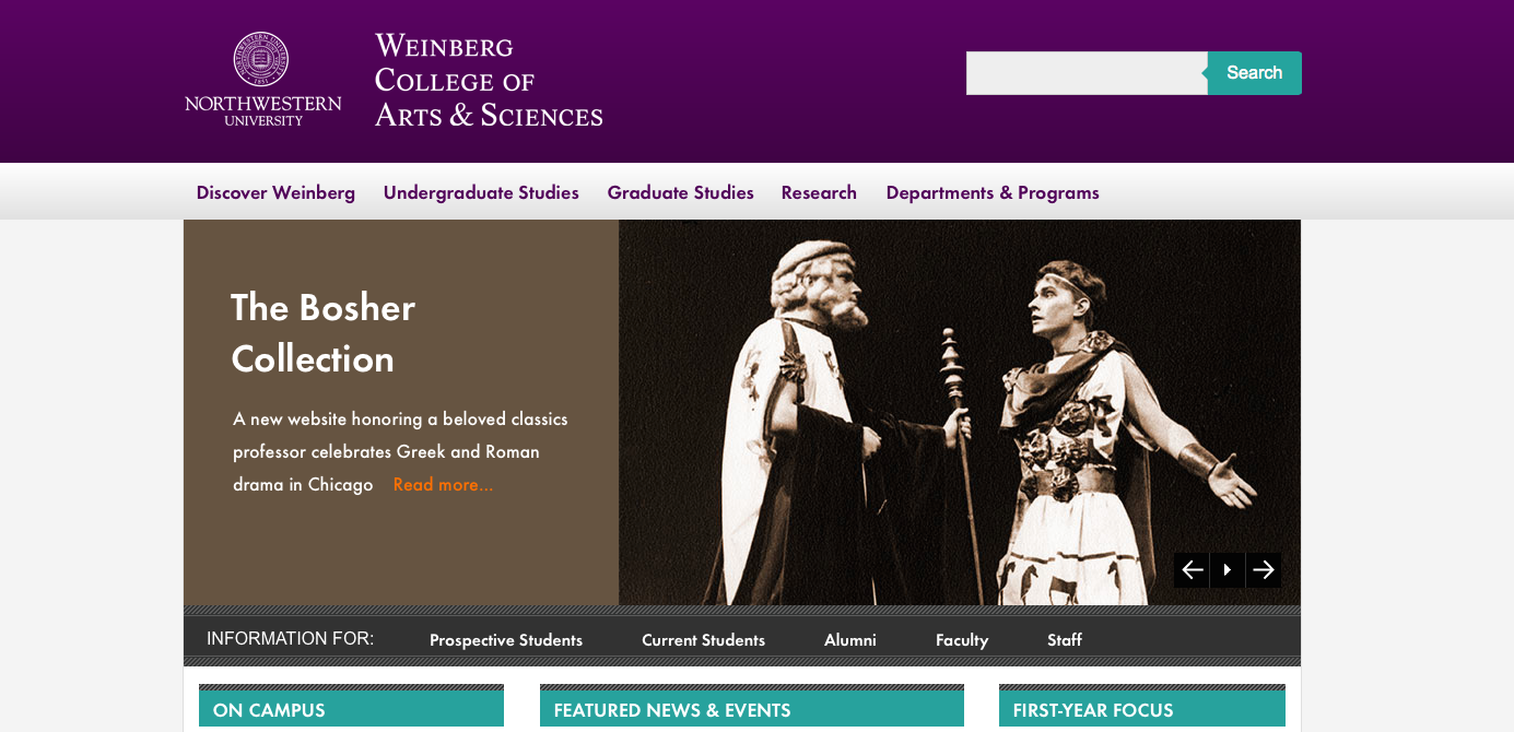 weinberg homepage