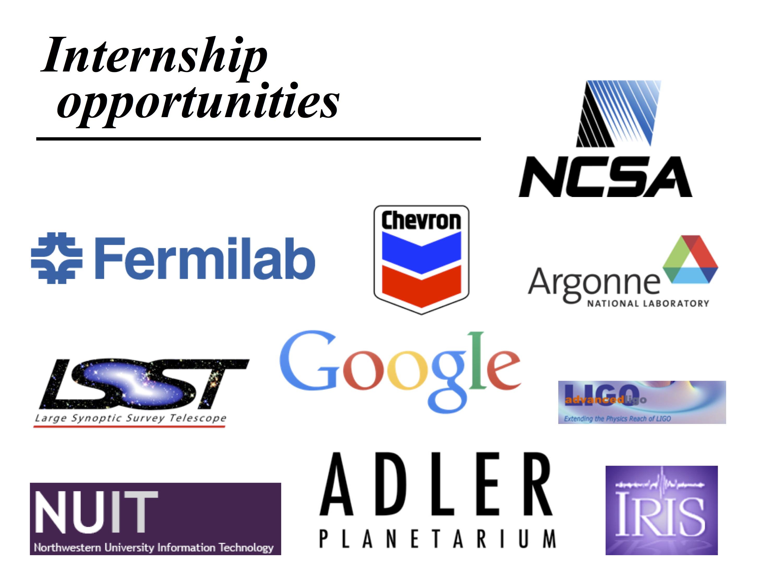 Internship logos