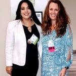 IDEAS Program Director, Michelle Paulsen (right), and Sara Mata (left), of the University of Oklahoma.