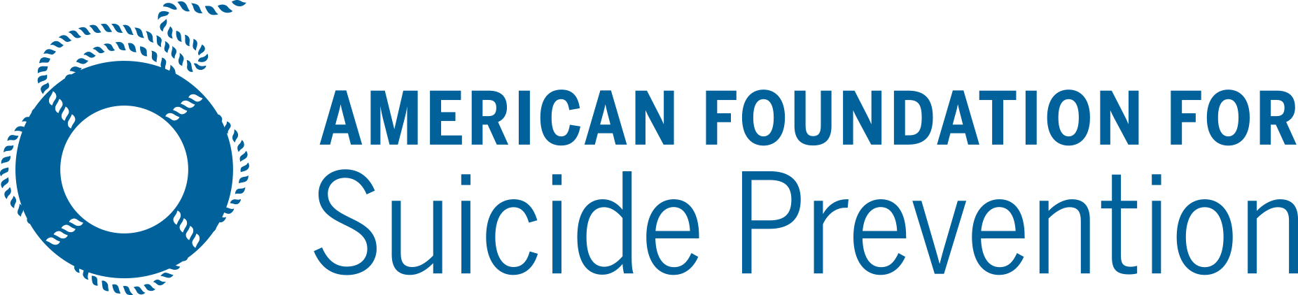 The logo for the American Foundation for Suicide Prevention