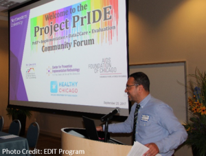 Dr. George Greene presents on Project PRIDE