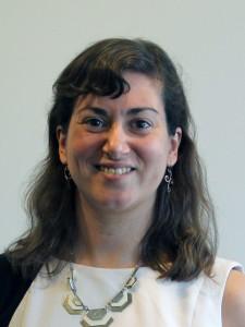 A headshot of Emily Forscher.