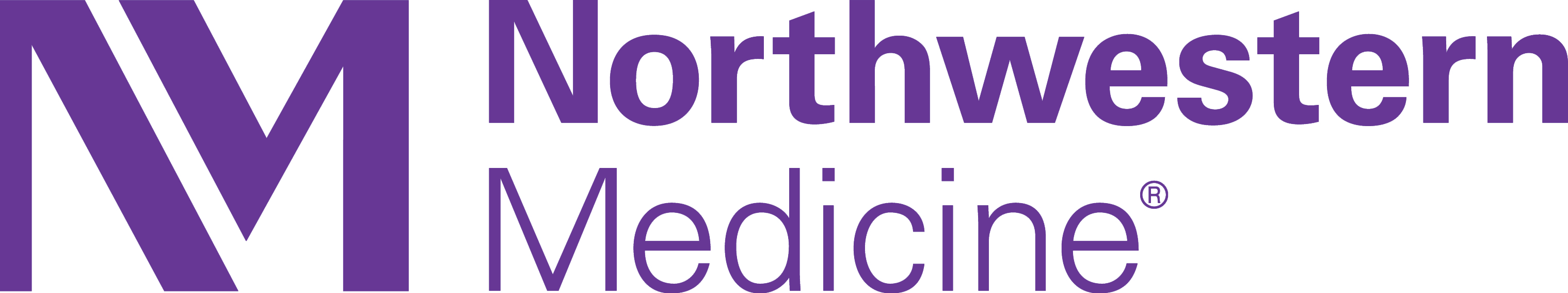 The logo for Northwestern Medicine.