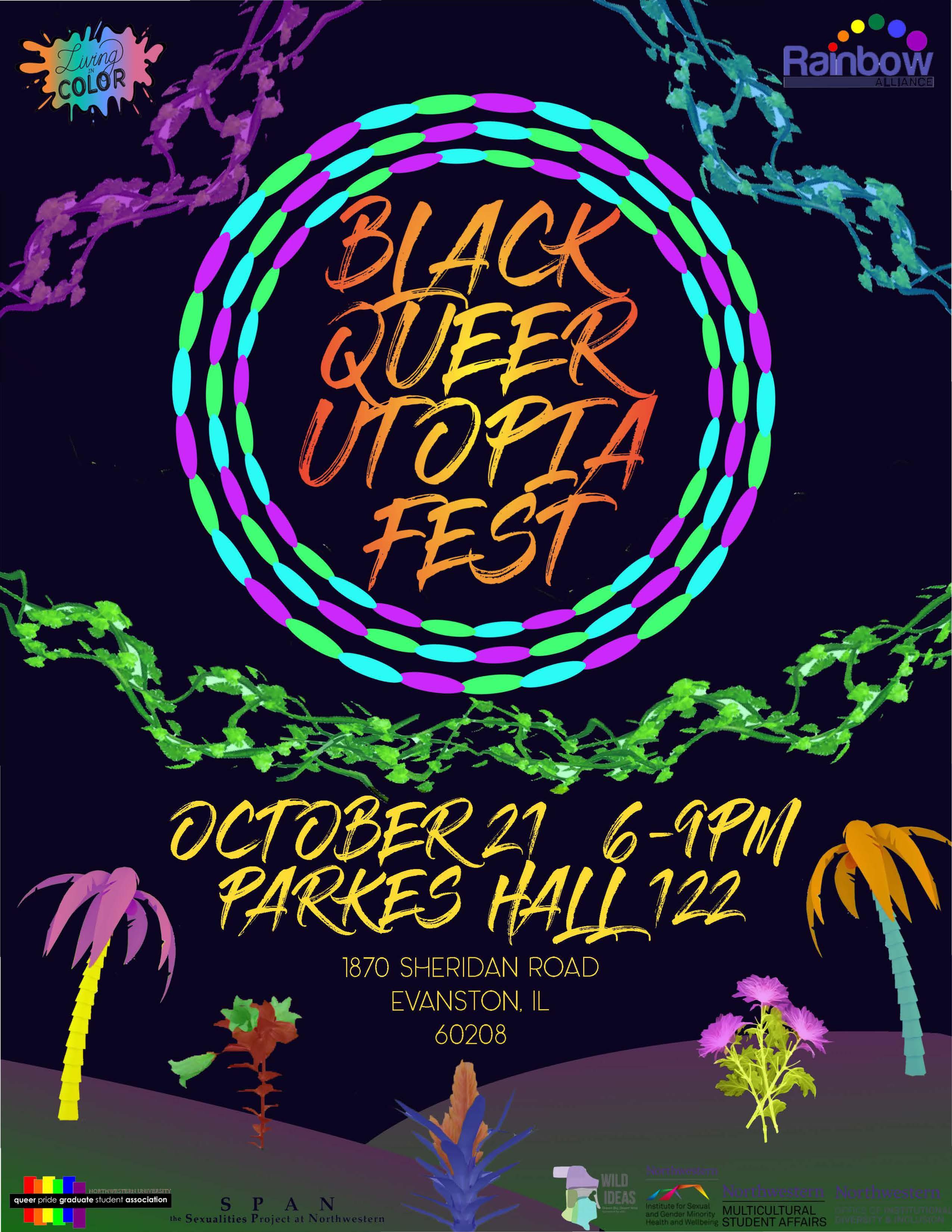 Black Queer Utopia flier