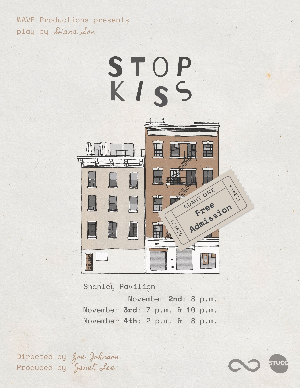Stop Kiss flier