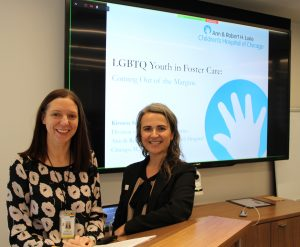 Dr. Kirsten Simonton with ISGMH associate director Dr. Francesca Gaiba.