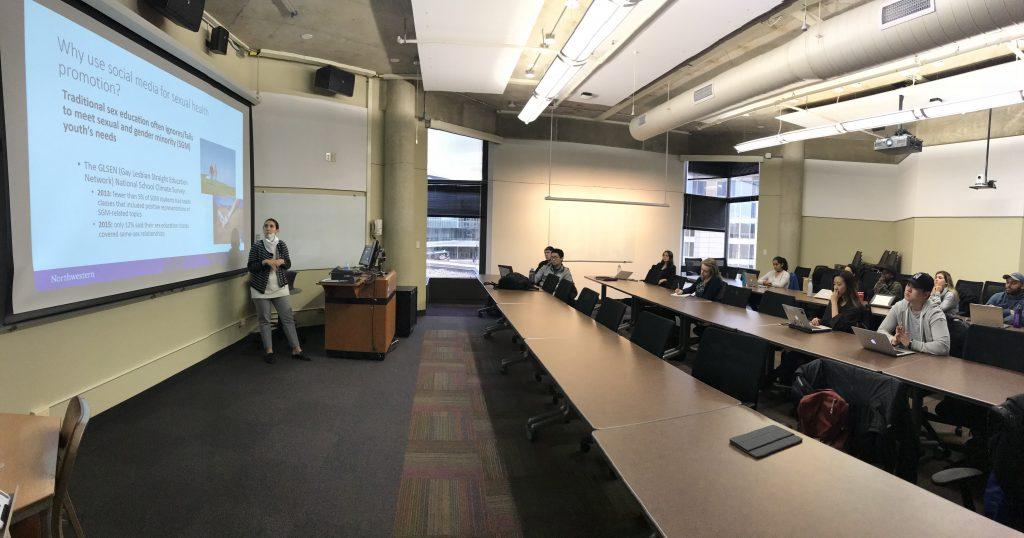 Dr. Kraus presenting.