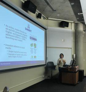 Dr. Macapagal presenting.