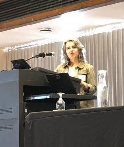Dr. Francesca Gaiba at the Critical Intersections Symposium.