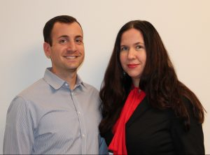 A photo of Drs. Brian Feinstein and Lauren Beach