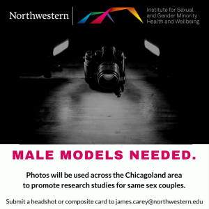 Male Models Needed Graphic