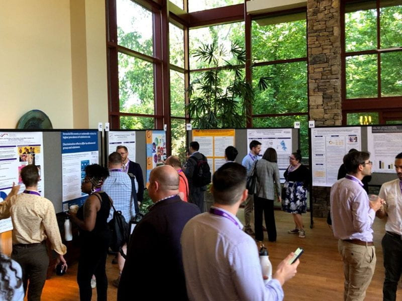 Poster session at the 2019 National LGBTQ Health Conference.