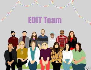 EDIT team illustration