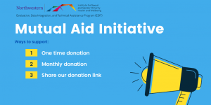 Mutual Aid Initiative, Ways to support: 1. one-time donation, 2. monthly donation, 3. share our donation link
