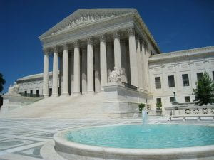 Supreme Court of the United States building exterior