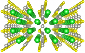 BaPdS2 crystal structure