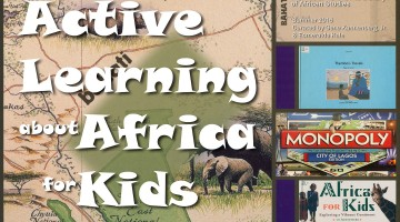 ActiveLearning about Africa for Kids logo top