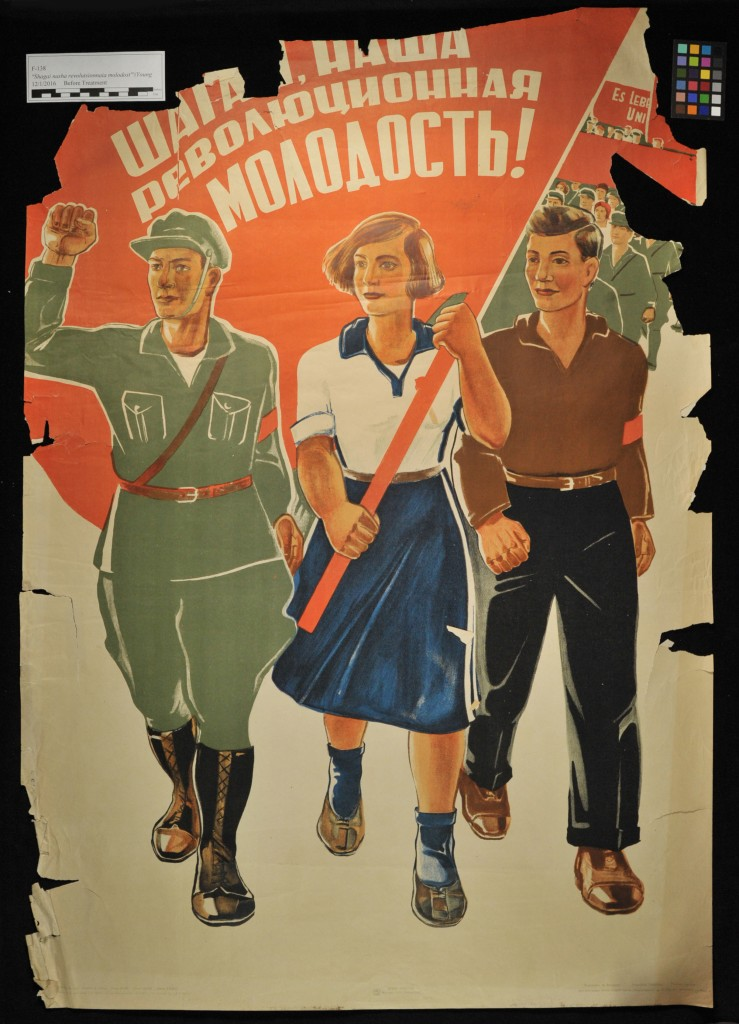 The Red Scare Washing Amp Lining Early Soviet Propaganda Posters Libraries Blog