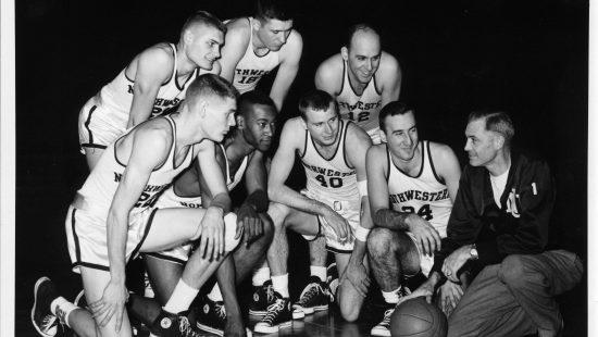 Northwestern Basketball team