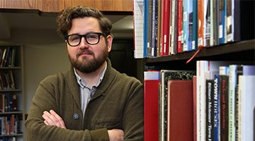 Josh Honn, Digital Humanities Librarian