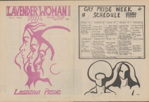 Lavender Woman, June 1973