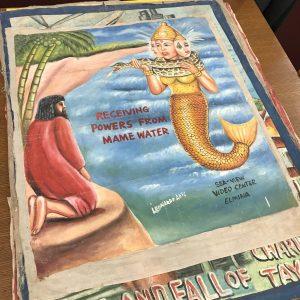 MJHL-Handpainted Posters
