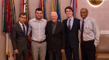 Richard Joseph and Jimmy Carter