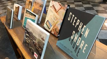 Stephen Shore book display