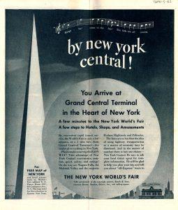 New York Central - World's Fair